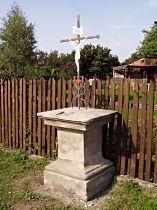 Kreuz an der Strasse nach Provodín - 9.10.2005