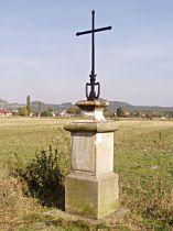 Kříž u cesty pod Maršovický vrch - 9.10.2005