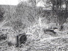 Kreuz vor der Reparatur, 1.4.2000