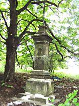 Kreuz an der Strasse nach Bořetín - 5.6.2004