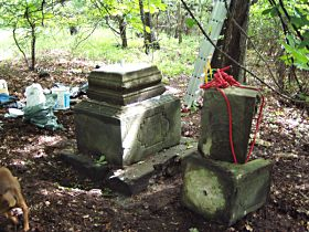 Reparatur des Kreuzes, 5.6.2004
