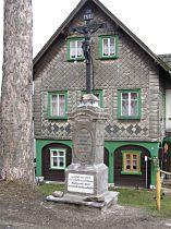 Kříž u silnice do Valů - 2003