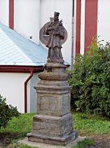 Socha sv. Jana Nepomuckého - 29.8.2004
