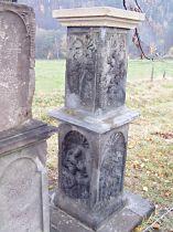 Kamenné sloupy po sestavení, 5.11.2005