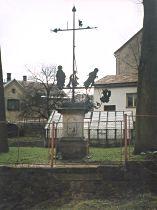 Palmův kříž před opravou