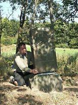 Reparatur des Kreuzes, 19.9.2004