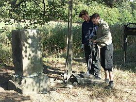 oprava kříže, 19.9.2004
