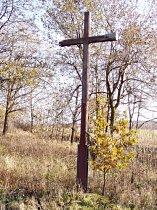 Stav kříže před obnovou