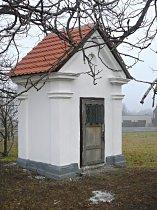 Kaplička na východním okraji města - podzim 2008
