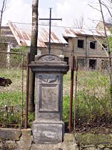 Kříž u staré sklárny - 1.5.2005