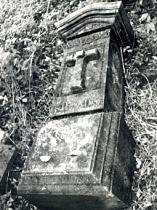 Původní stav kamenných částí kříže