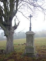 Kříž pod Dutým kamenem - 21.10.2012