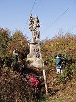 Statue vor der Reparatur, 18.10.2003