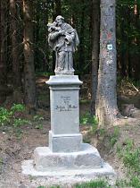 Statue des hl. Johann v. Nepomuk - Juni 2015