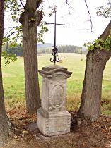 Kreuz an der Strasse nach Cvikov - 4.10.2003