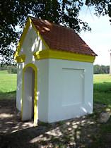 Kapelle an der Strasse nach Cvikov, 2009