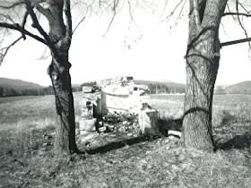 Kapelle vor der Reparatur, 2000