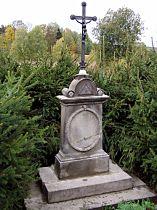 Kříž u zastávky - 11.10.2003