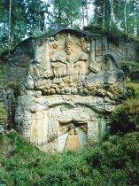 Reliéf Nejsvětější Trojice u Třídomí