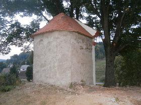 Reparierte Kapelle, October 2012.
