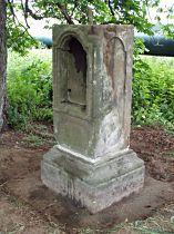 Kříž u silnice do Kuřívod - 19.6.2004