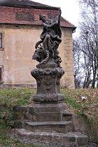 Statue der hl. Katharina - 2008