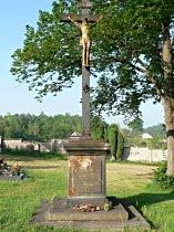 Stav kříže před opravou