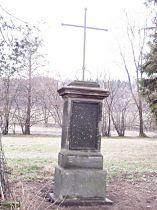 Kříž u silnice do Kerhartic - 28.3.2004
