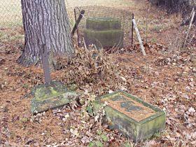 stav kříže před opravou - 15.11.2003