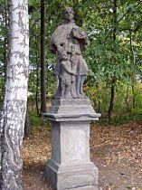 Statue des hl. Johann v. Nepomuk - 25.9.2003