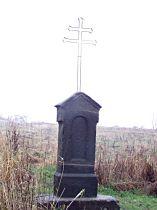 Kříž u silničky pod Krásnou horu - 13.11.2004