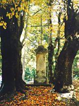 Kreuz im Sattel oberhalb der Skipiste - 2003