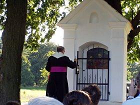 Požehnání kapličky, 31.8.2008