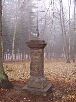 Kříž u staré cesty do Práchně - 15.11.2003