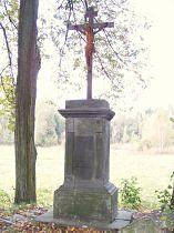 Kříž u odbočky k hájovně - 15.10.2006