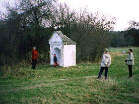 kaplička před opravou, 10.4.2004
