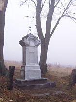 Kreuz unter dem Berg Česká skála - 16.11.2003