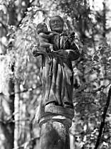 Sloup sv. Antonína za osadou - 1995