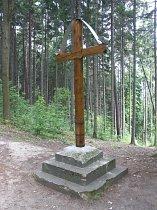 Kříž u svojkovské kostelní cesty - 2003