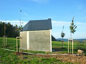 Reparierte Kapelle, 27.10.2014.