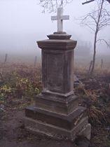 Kreuz an der Abzweigung nach Svobodná Ves - 22.11.2003