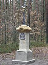 Kříž na rozcestí před Peklem - 2009