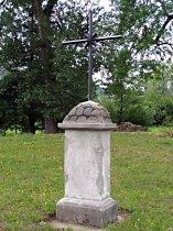 Kříž v ulici k nádraží - červen 2007