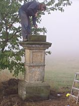 oprava kříže, 3.10.2004
