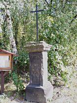 Kreuz am Dorfanger von Taneček - 25.9.2005