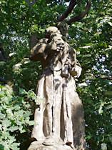Detail sochy sv. Antonína