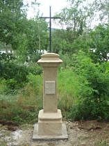 Kříž u Dolanského rybníka - 2011