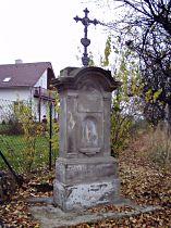 Kříž v osadě Plesa - 13.11.2005