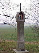 Boží muka u silnice do Ždírce - listopad 2006