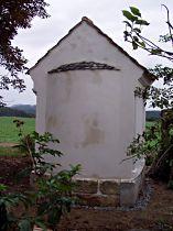 Kaplička před dokončením, 29.9.2005